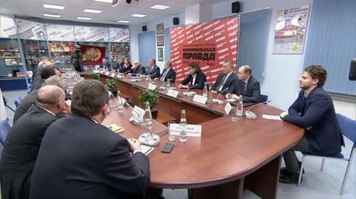 Rusia: '¡Provocación!' Putin niega interferencia rusa en las elecciones italianas