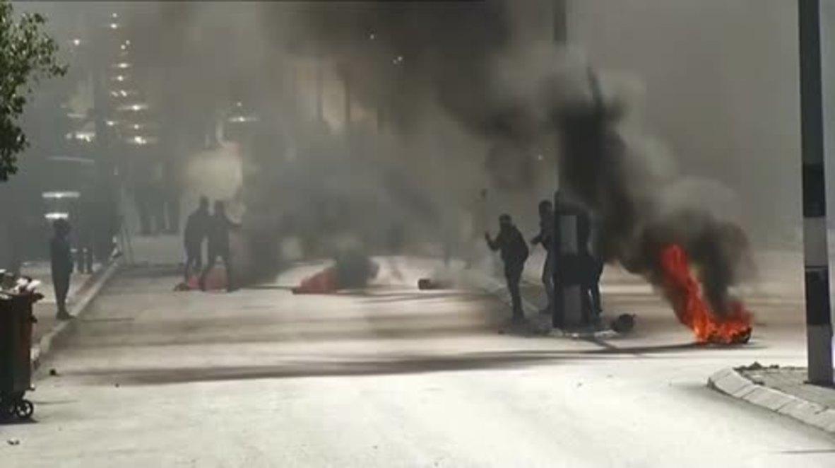 """Palestina: Manifestantes se enfrentan con tropas israelíes en el """"Día de la ira"""" en Belén"""