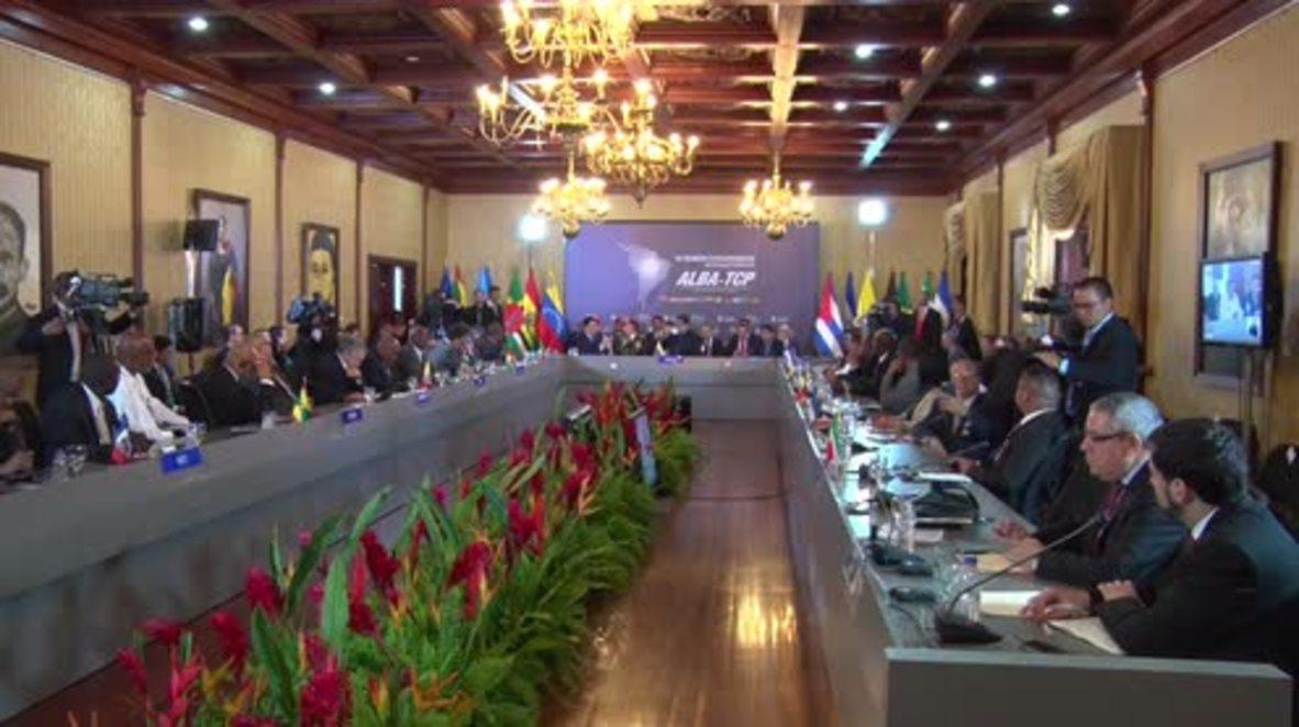 Venezuela: Maduro pide a gobiernos de ALBA sumarse a su criptomoneda