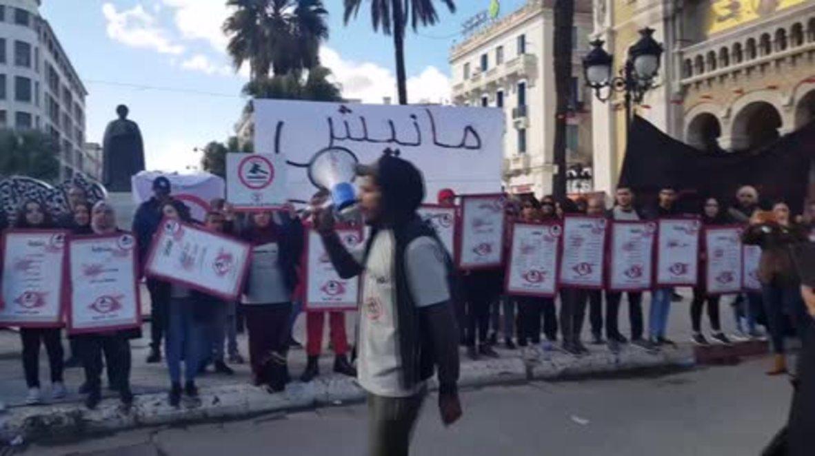 Túnez: Más de 800 detenidos en las protestas contra los recortes