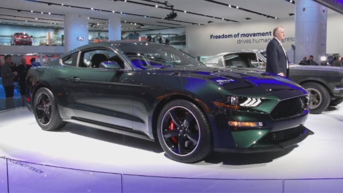 Steve McQueen fans rejoice as Ford unveils new Mustang Bullitt