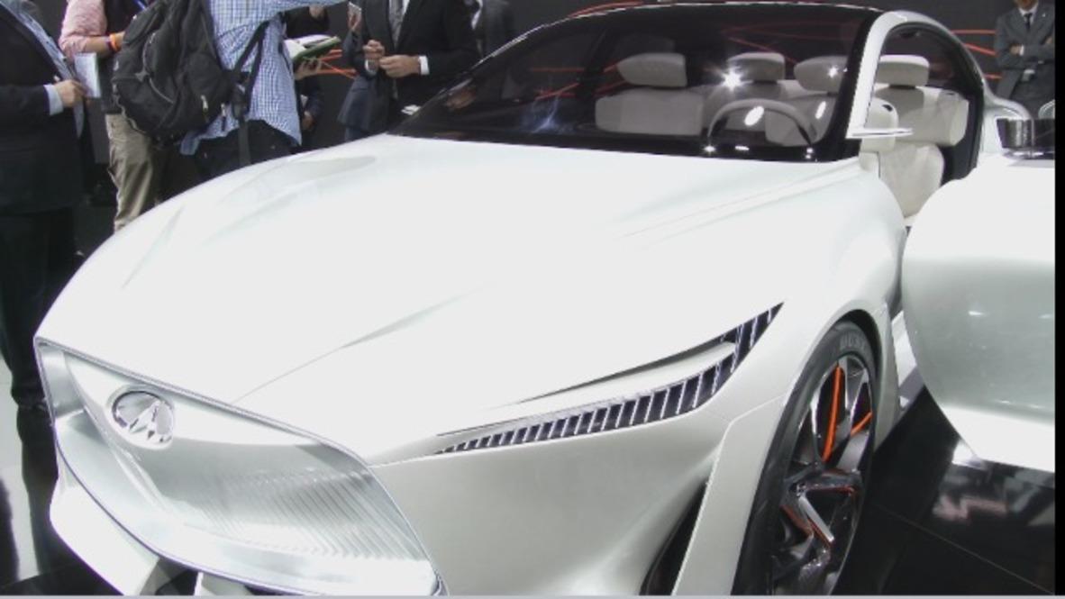 Inifiniti motors launch semi-autonomous 'Inspiration' series at NAIAS