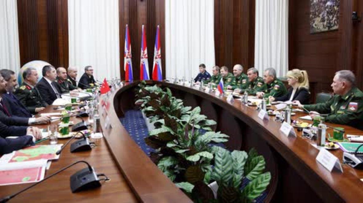 Rusia: Shoigu se reúne con una delegación turca para discutir sobre la crisis en Siria
