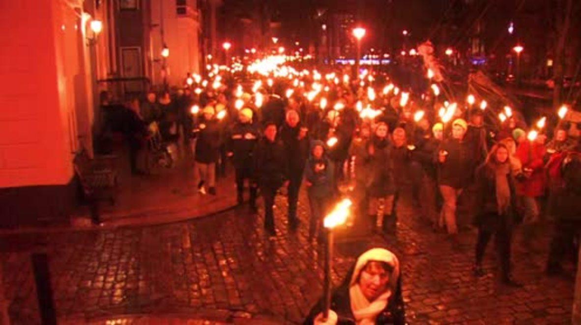 Países Bajos: Miles de personas furiosas por la perforación de gas después del terremoto