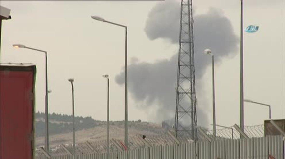 Siria: Segundo día de la campaña militar 'Rama de olivo' deja la zona de Afrin bajo columnas de humo