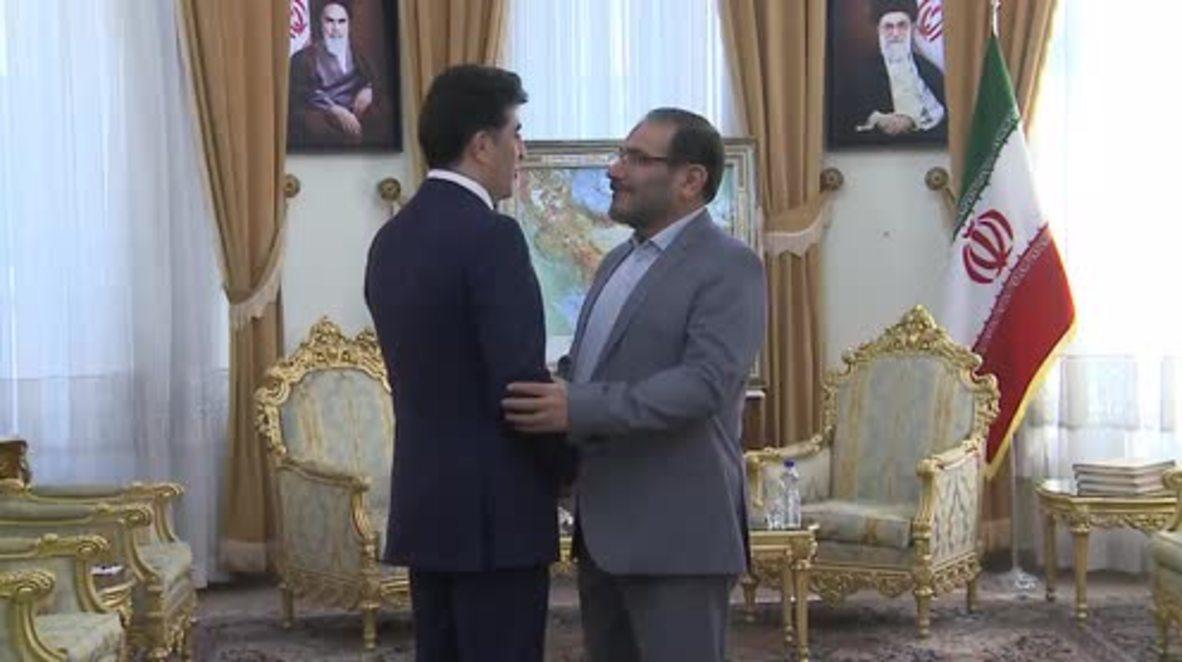 Iran: Iraqi Kurdish PM visits Tehran for first time since referendum