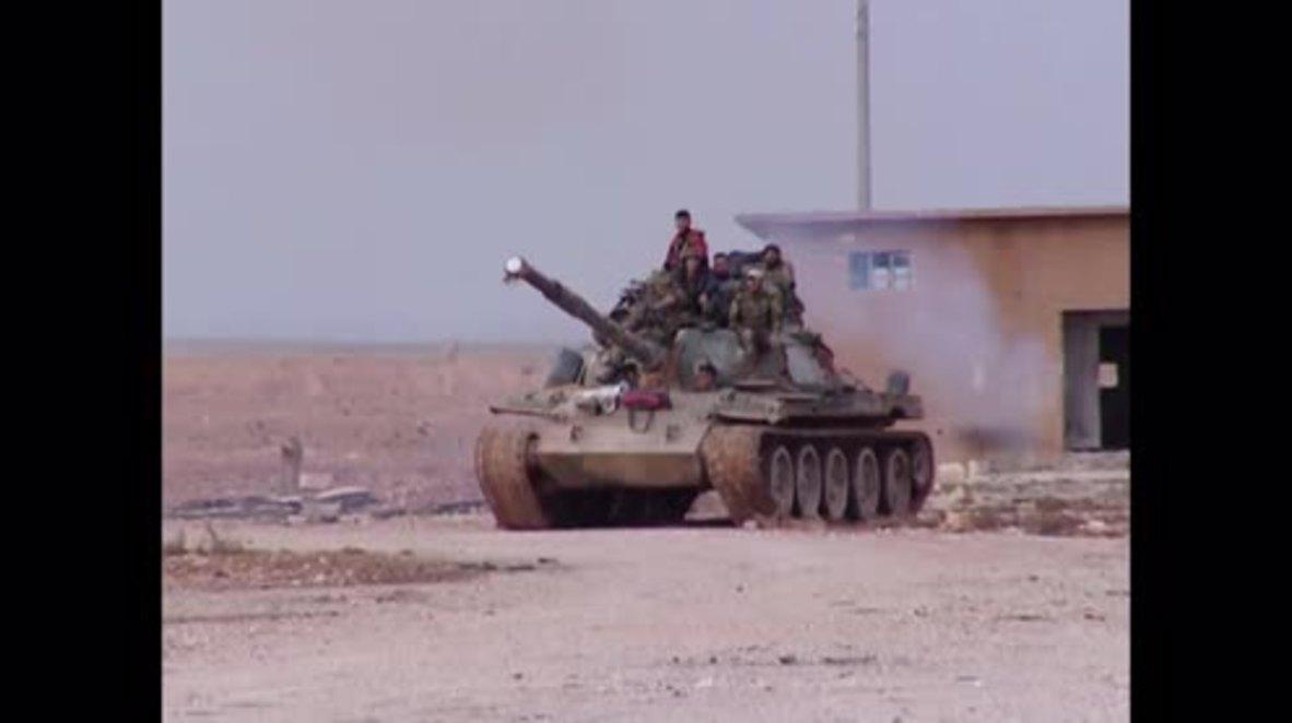 Siria: El Ejército Árabe Sirio recupera el aeródromo de Abu Dhuhur tras tres años de combates
