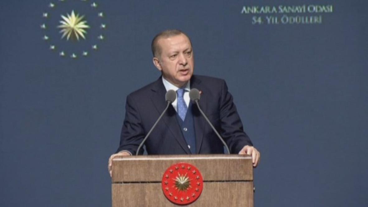 Turquía: Erdogan afirma que Ankara no dará un paso atrás en Afrin