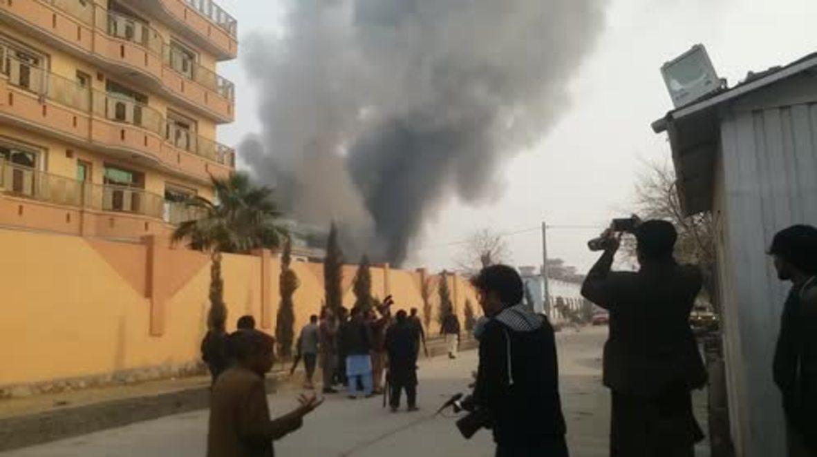 Afganistán: Continúan los disparos en Jalalabad tras el ataque contra el edificio de Save the Children
