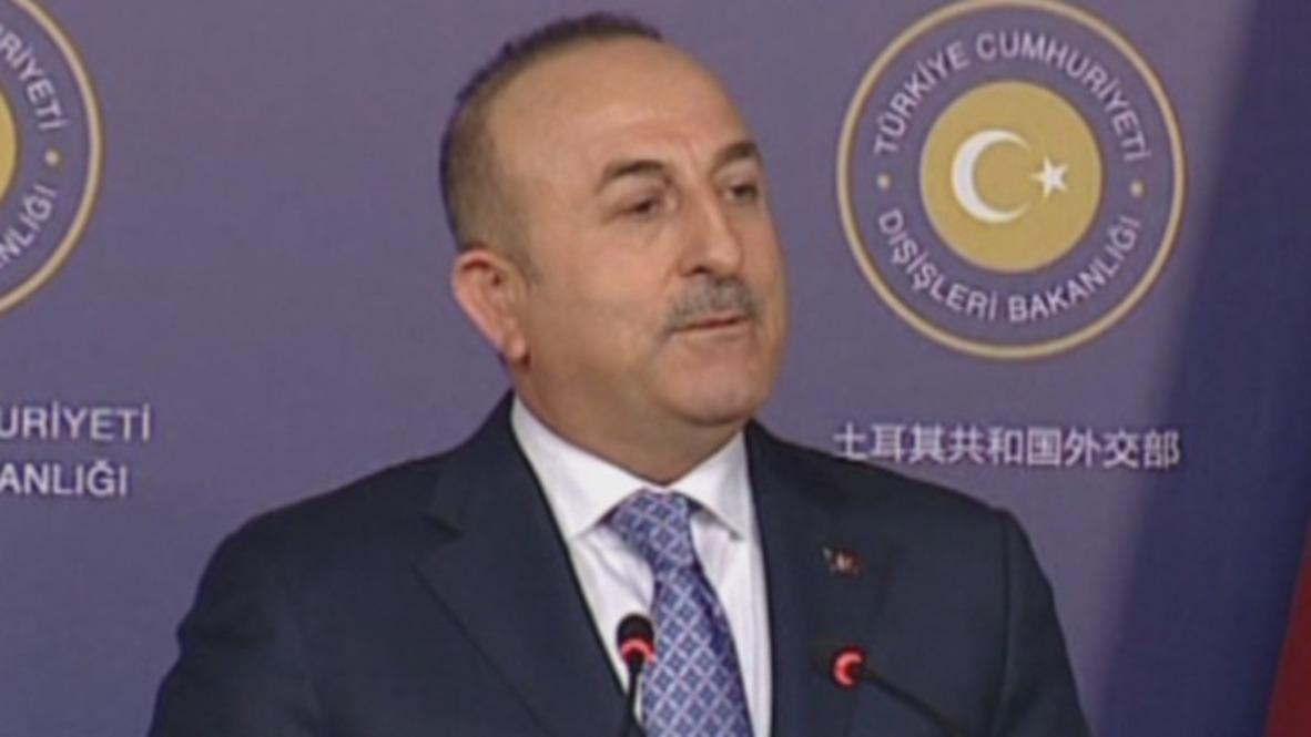 Turquía: 'Se debe reconstruir la confianza con Estados Unidos' - Ministro de Relaciones Exteriores de Turquía