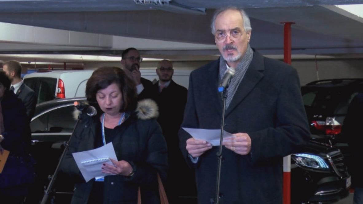 Austria: Jaafari rechaza la propuesta de paz de Siria