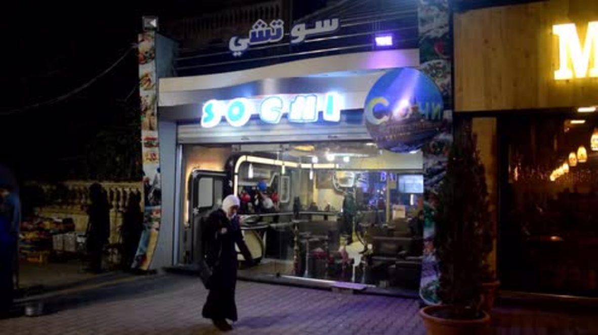Siria: Restaurante 'Sochi' abre en honor a la conferencia de paz en Rusia