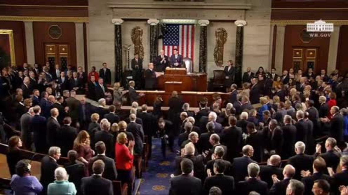 EE.UU.: Trump pronuncia su primer discurso sobre el Estado de la Unión