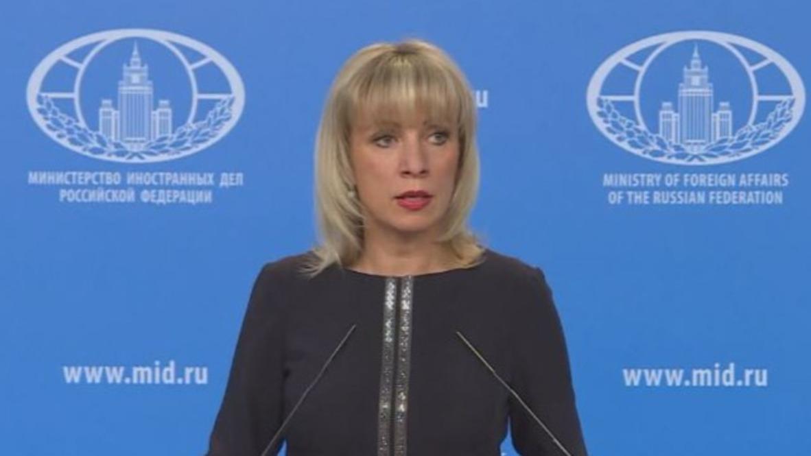 Russia: 'Kremlin List' looks 'absurd and strange' – Zakharova