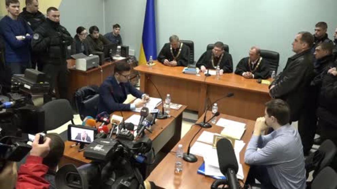 Ucrania: Tribunal de Kiev otorga parcialmente a Saakashvili la retirada del panel de jueces.