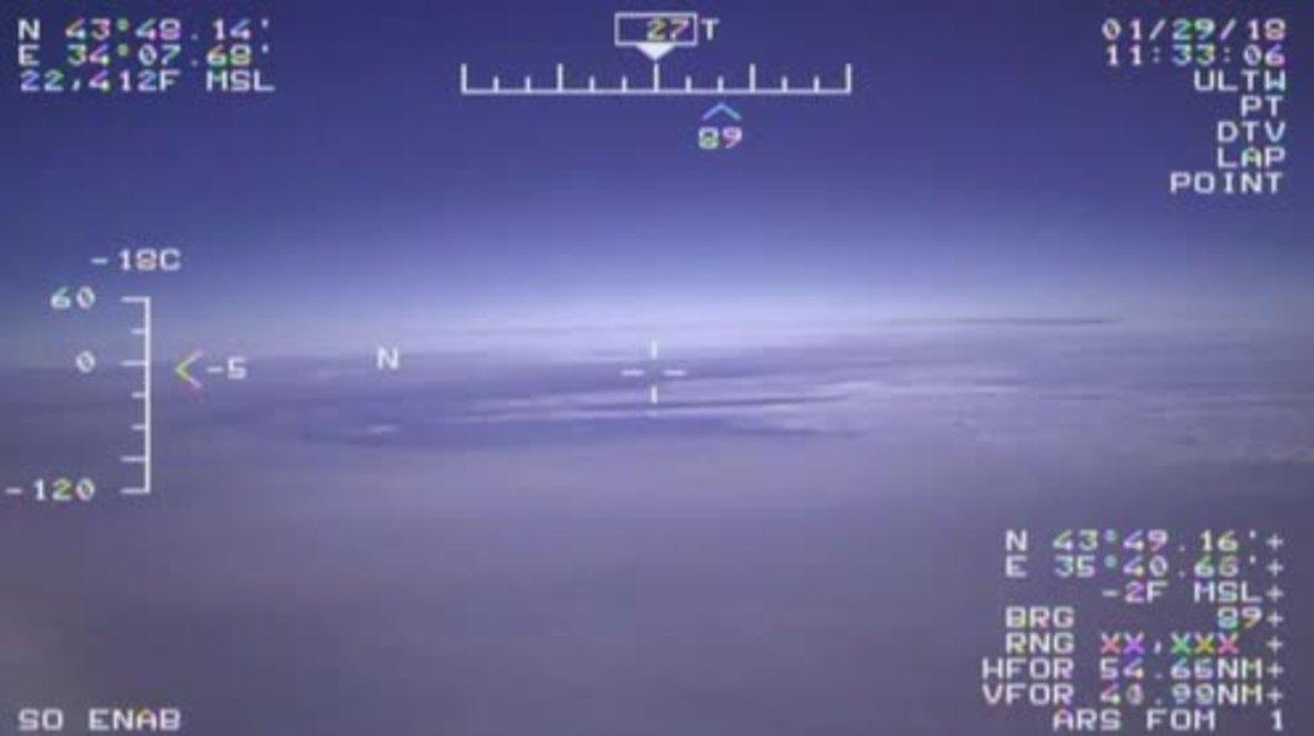 International Airspace: Russian plane intercepts US jet