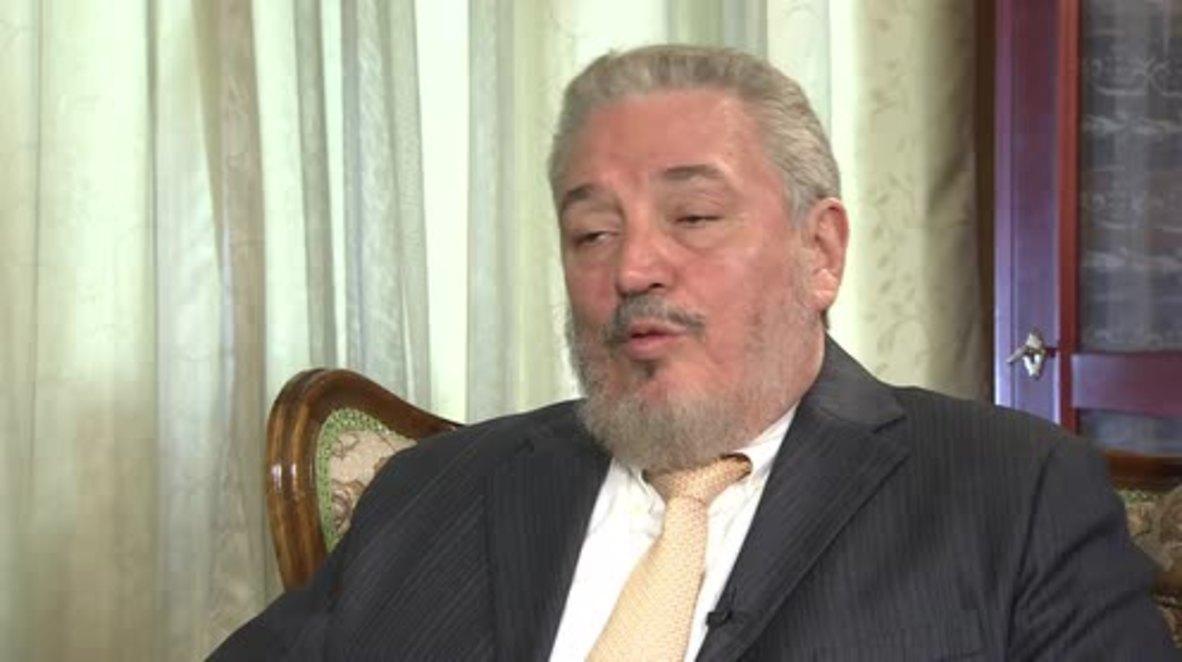 Archive Footage: Fidel Castro's eldest son 'Fidelito' commits suicide