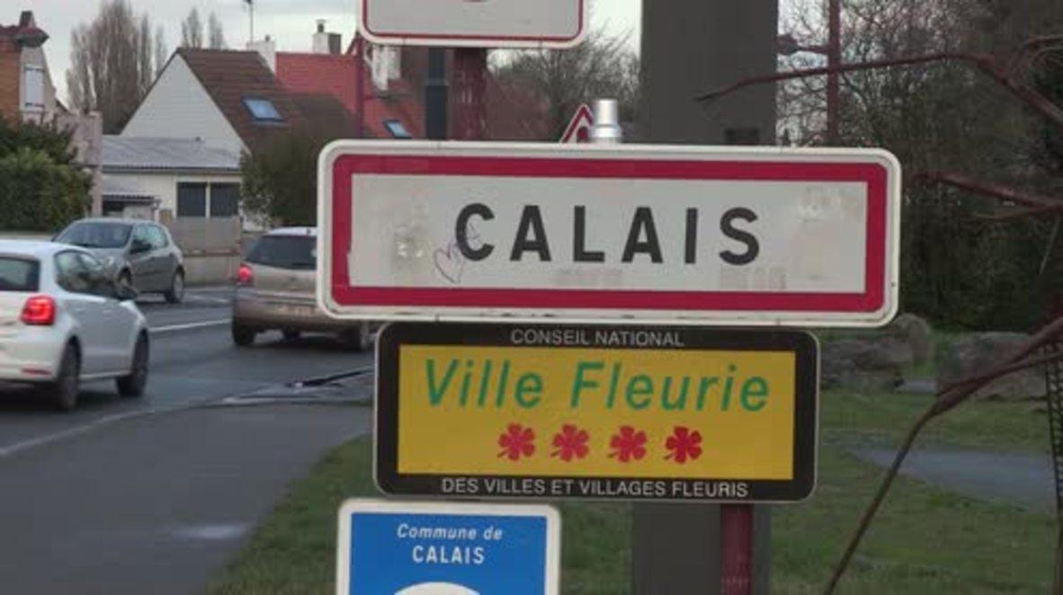 Francia: Residentes de Calais hablan sobre la pelea entre inmigrantes.