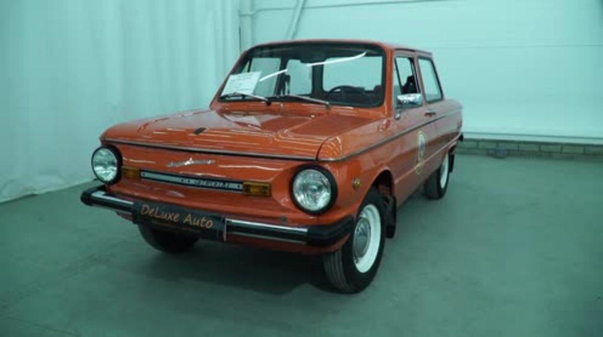 Congelado en el tiempo: Legendario coche soviético sale a la venta en Rusia