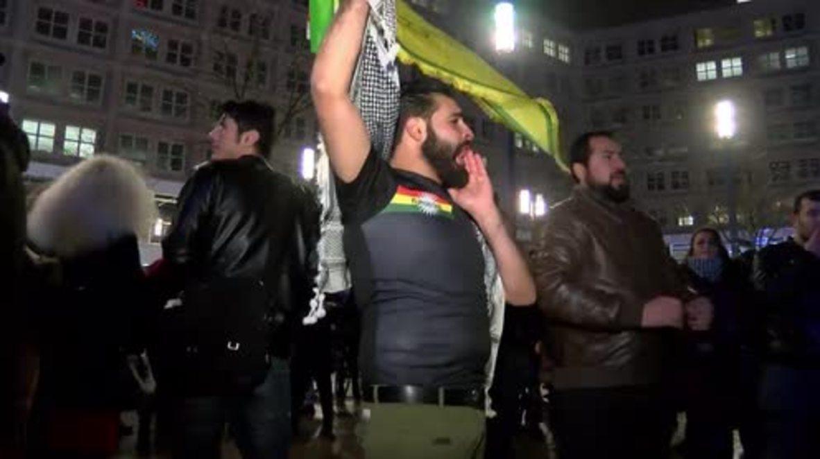 Germany: 'Erdogan, terrorist' - Berlin rallies against Turkish operation in Afrin