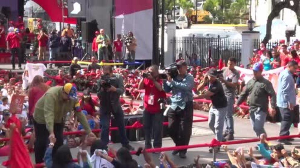 Venezuela: Maduro announces he will run for re-election in 2018 vote