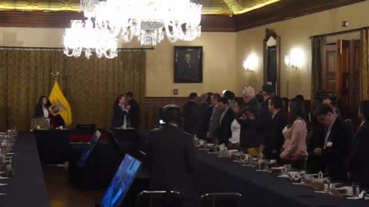 Ecuador: Moreno vows to protect Assange despite Ecuador's 'uncomfortable' position