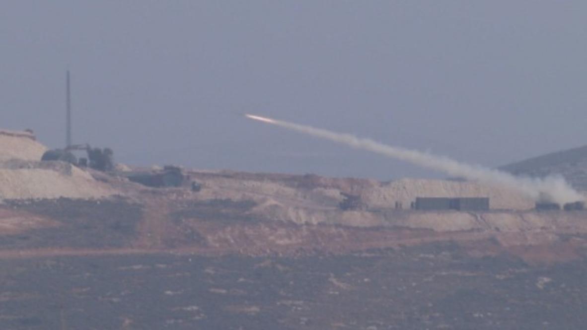 Turquía: Turquía dispara cohetes en la región de Afrin en Siria