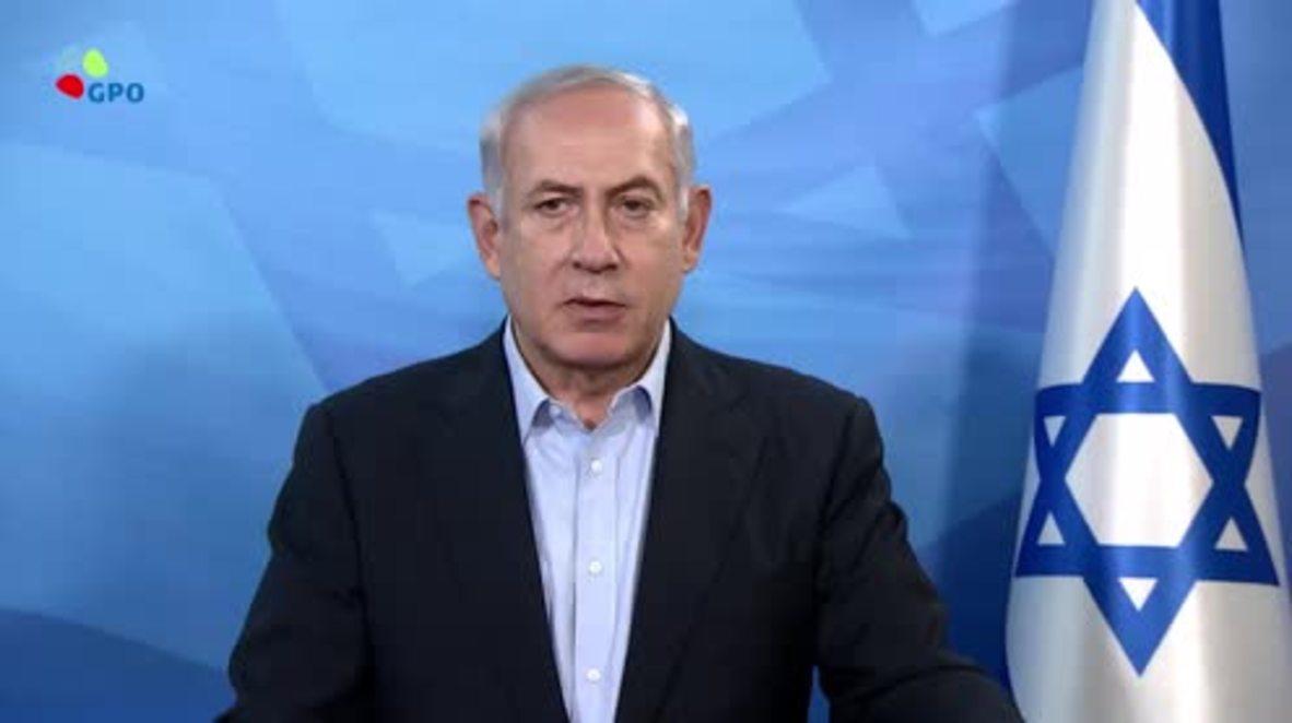Israel: 'Haremos todo lo posible para detener la agresión iraní' - Netanyahu