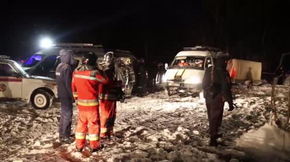 Rusia: Investigadores tratan de establecer las causas del accidente del avión ruso