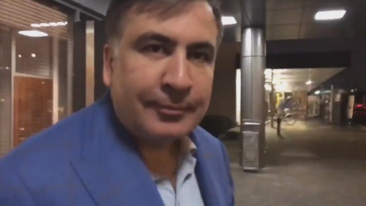 Polonia: 'Fue un secuestro', afirma Saakashvili tras la deportación de Ucrania
