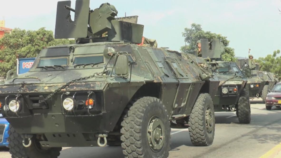 Colombia: Miles de soldados son enviados a la frontera en medio de la crisis en Venezuela
