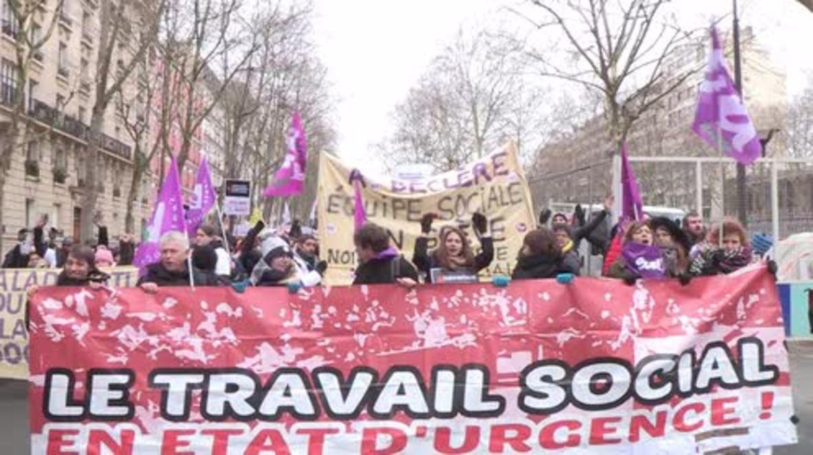 France: Paris decries 'State of Social Emergency'
