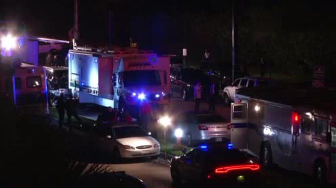 USA: High alert outside FL school following deadly shooting
