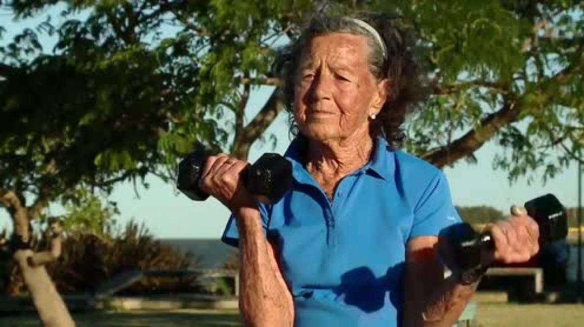 83-yo grandma to conquer highest mountain in S. America
