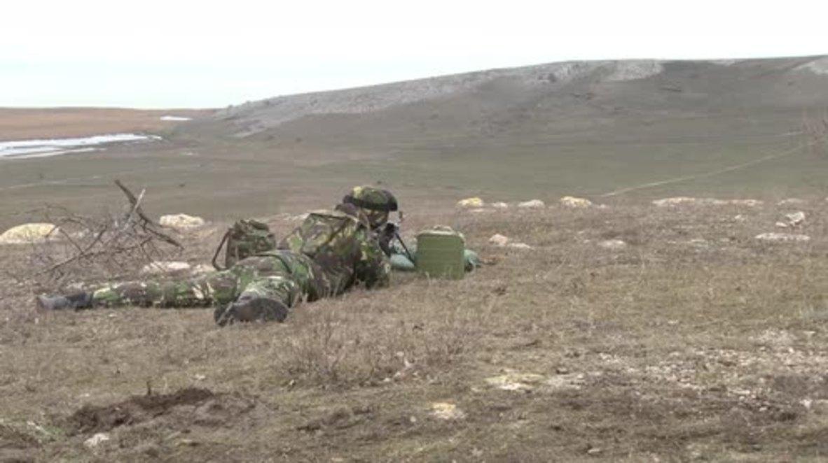 Romania: Moldova, Ukraine, Bulgaria, Romania, US kick off joint drills in Babadag Range