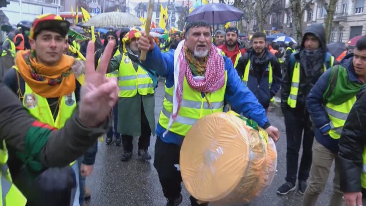 France: Thousands march for jailed PKK leader Ocalan's release