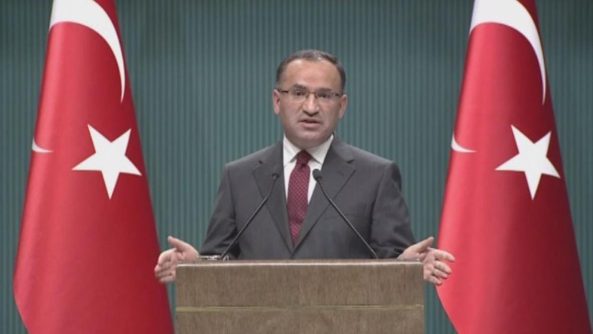Turquía: Las tropas sirias causarían un desastre en la región '- viceministro turco