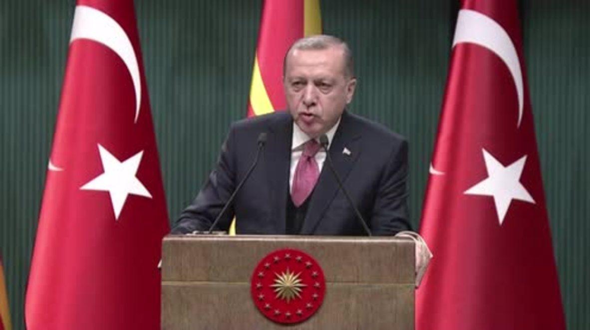 Turkey: 'Case closed' - Erdogan says Turkish shelling curbed Syrian militias in Afrin