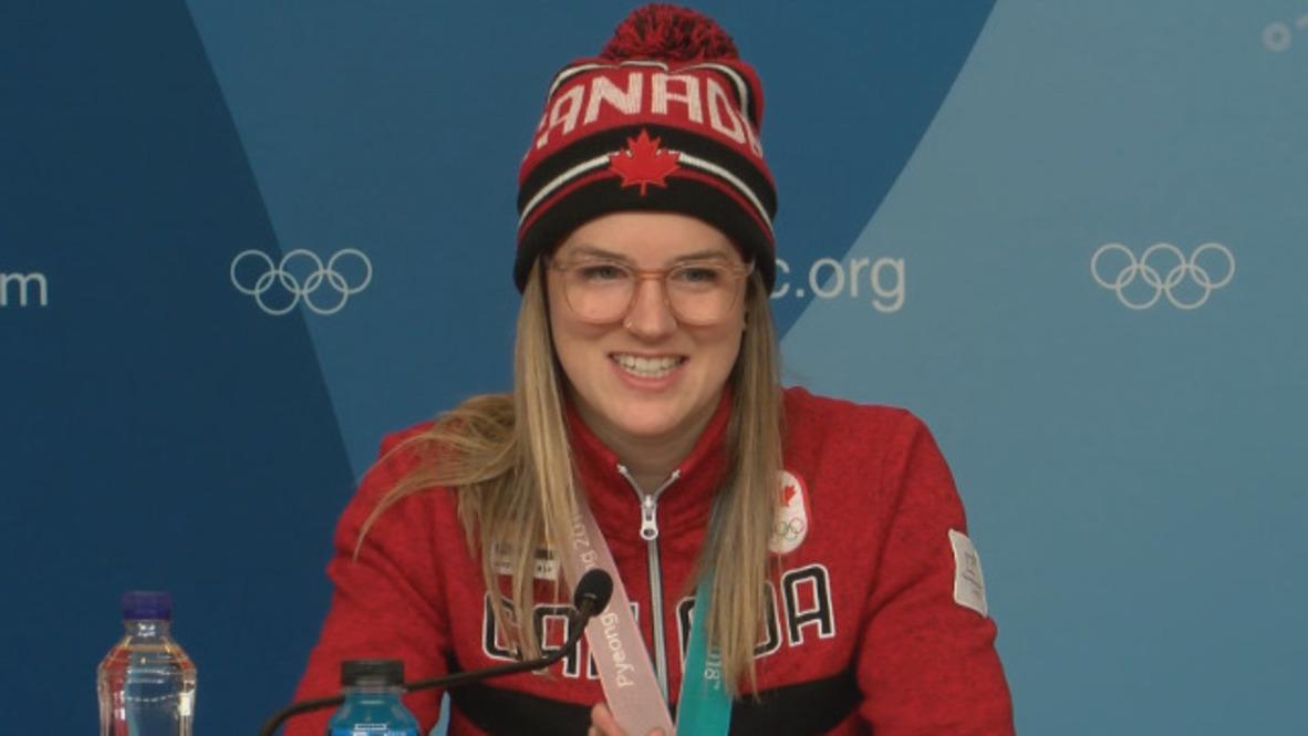 """Corea del Sur: """"Una sensación increíble"""" - Campeona olímpica canadiense de esquí en half-pipe"""