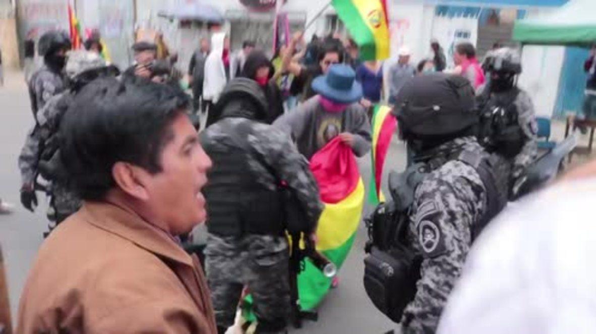Bolivia: Manifestantes en contra de Morales se reúnen en el segundo aniversario del referéndum