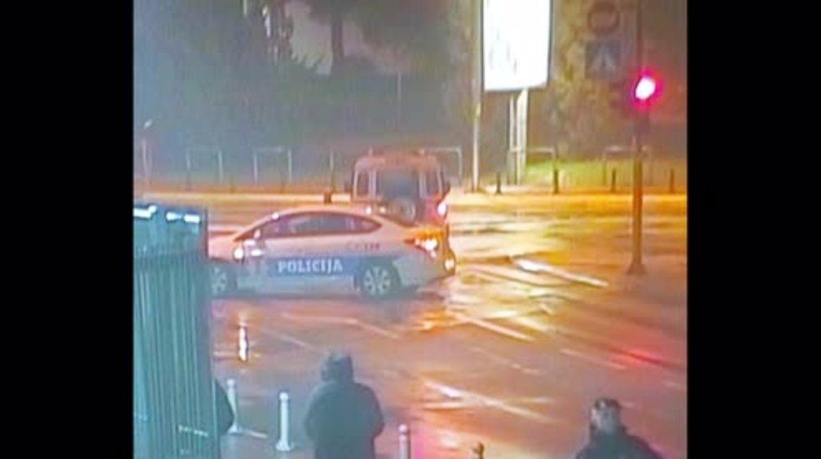 Montenegro: Un atacante lanza una granada contra la embajada de EE. UU. *FOTOGRAFÍAS*.