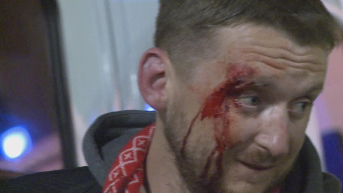 España: Violentos enfrentamientos entre ultras en Bilbao, un policía muerto
