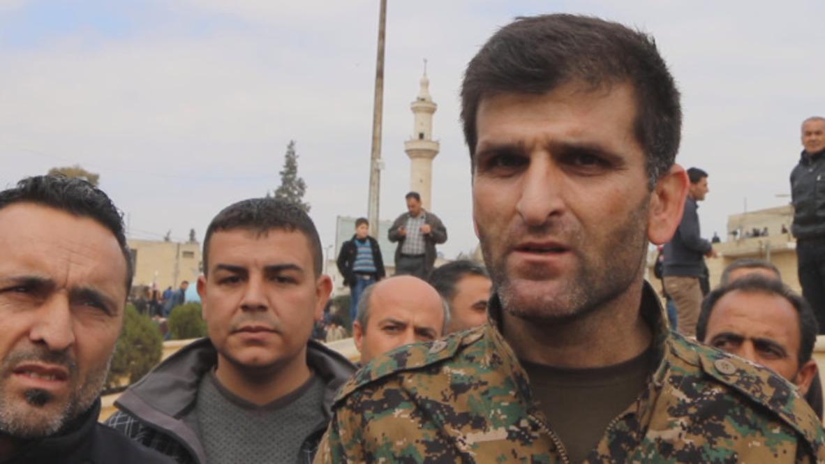 Syria: Assad forces defend Afrin 'homeland' but no deal says YPG