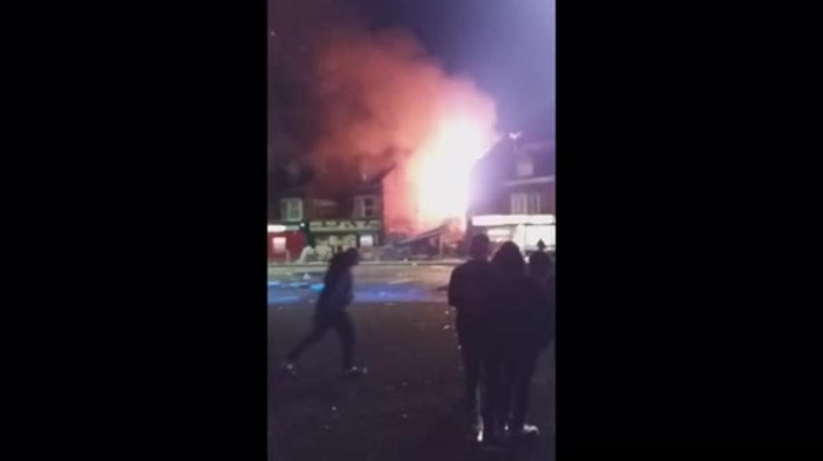 Reino Unido: Fuerte explosión en una tienda de Leicester