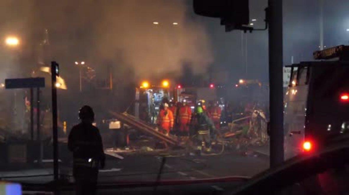 Reino Unido: 4 muertos tras la explosión que ha destruido un edificio en Leicester
