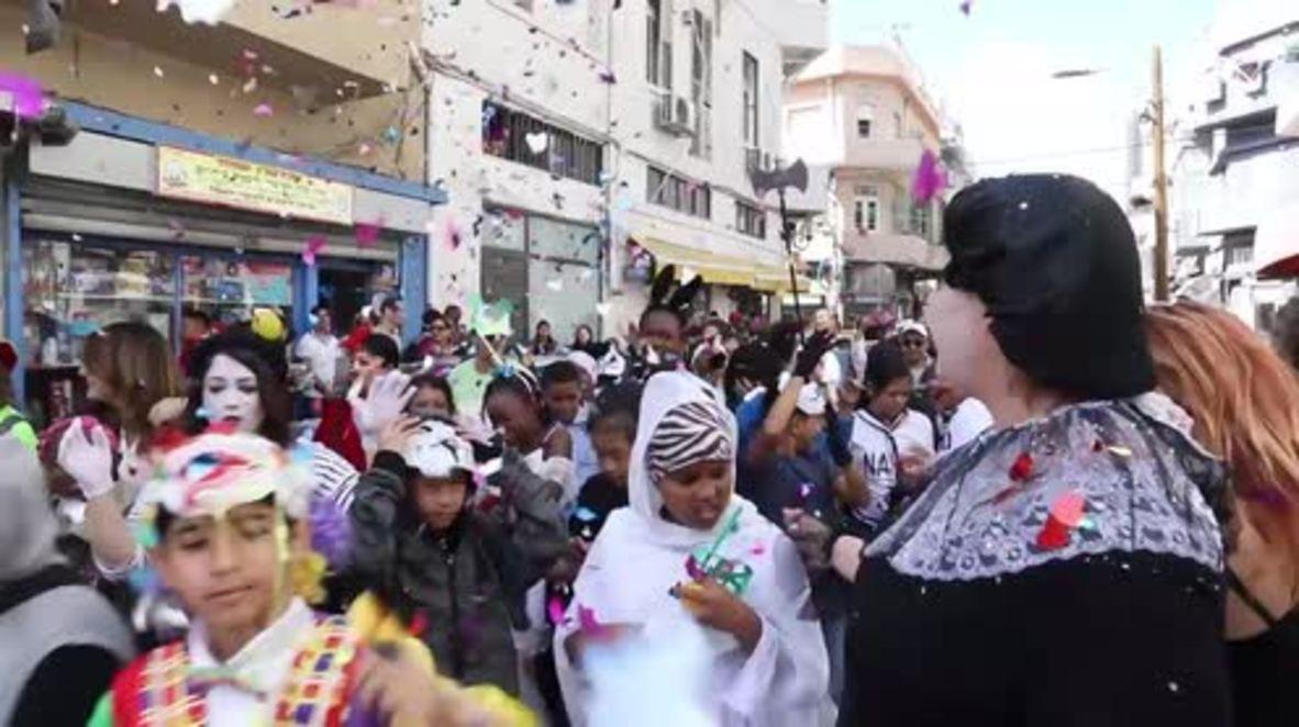 Israel: Escuela celebra el Purim con estudiantes inmigrantes en Tel Aviv