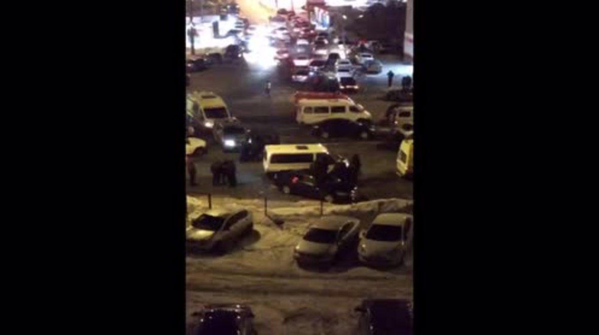 Rusia: Al menos a 2 muertos tras tiroteo en Kazan