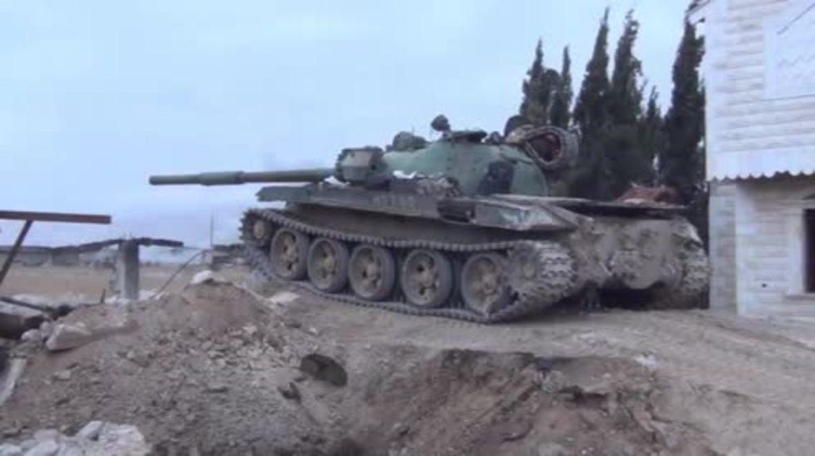 Siria: El Ejército Árabe Sirio recupera sectores estratégicos en Ghouta oriental