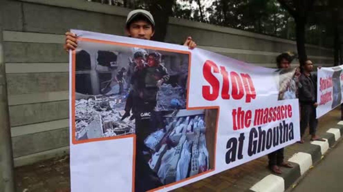 indonesia: Manifestantes islámicos exigen que el embajador ruso sea expulsado