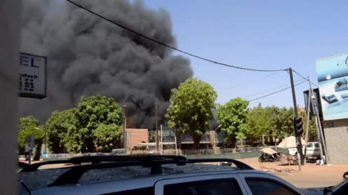 Burkina Faso: Explosion and gunshots rock French embassy and Army HQ in Ouagadougou